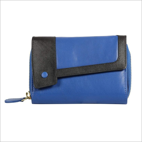 Ladies Blue Wallet