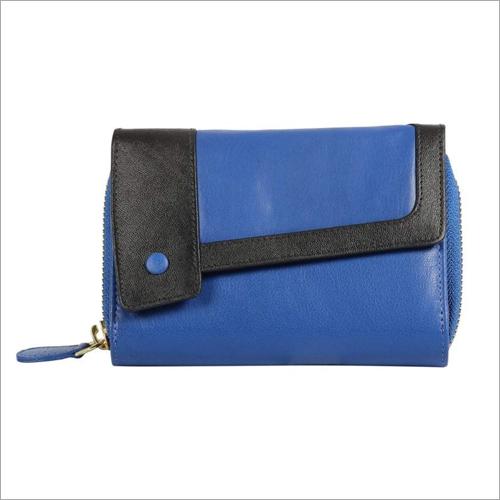 Ladies Blue Wallet