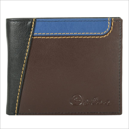 Mens Multicolor Leather Wallet