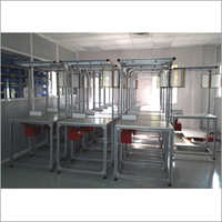 Assembly Machine Line Table Set Up