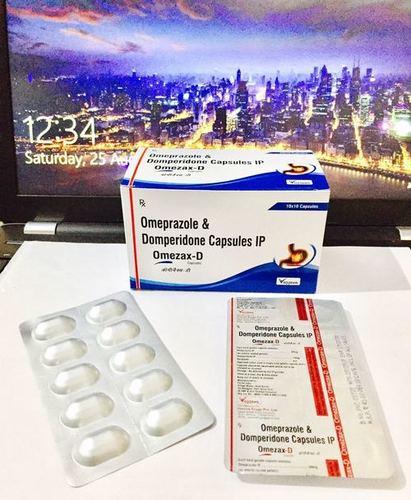 Omeprazole 20 mg + Domperidone 10 mg