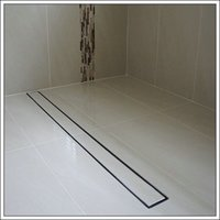 Tile Insert Shower Channel