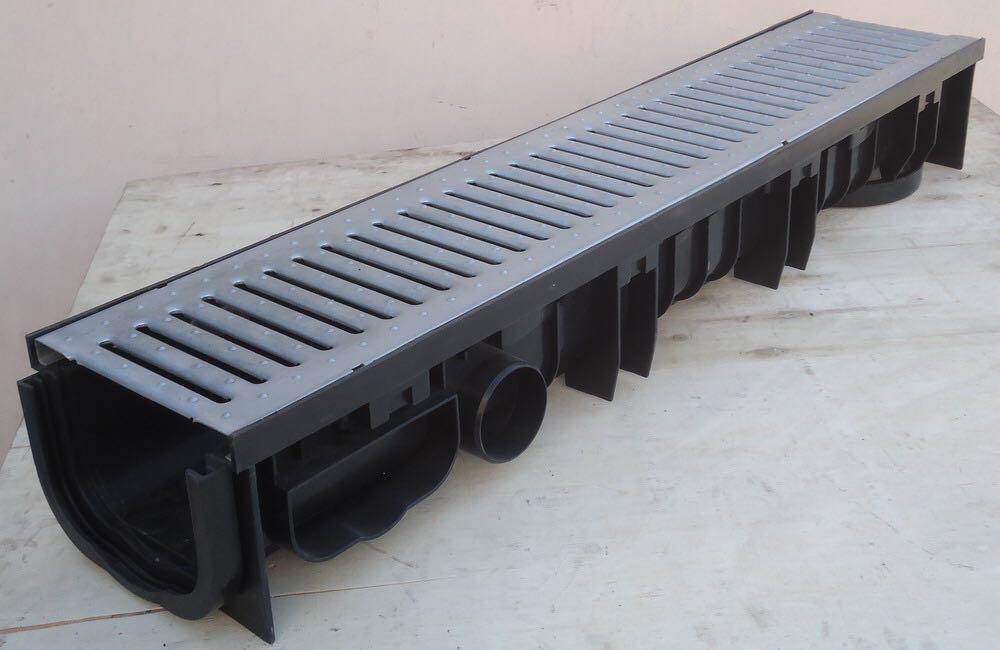 Stainless Steel External Drain Channel