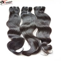 No Tangle No Shedding Wave Virgin Hair Extension 100% Human Hair