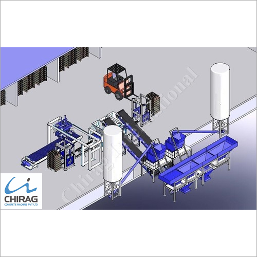 Chirag Immense Technology Interlocking Block Making Machine