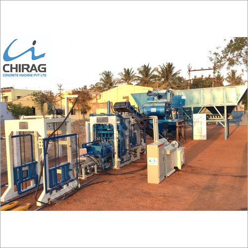 Chirag Eco Friendly Concrete Paver Block Machine