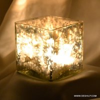 Squire Glass T Light Candle Holder