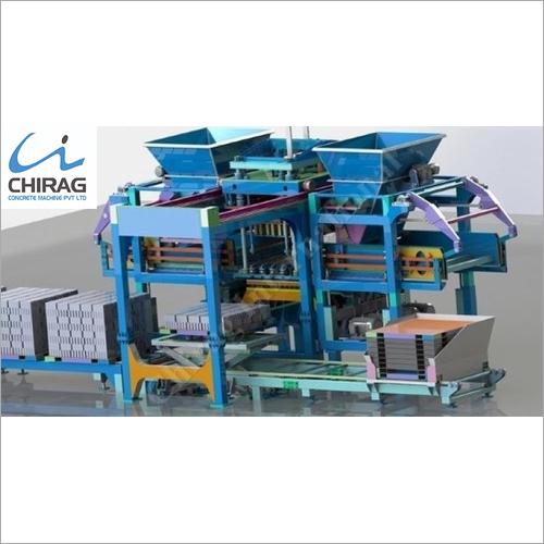 Chirag Advanced Technology Hydraulic Concrete Block Making Machine