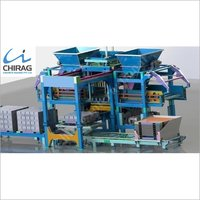Chirag Advanced Technology Hydraulic Concrete Block Making Machine