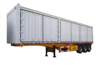 3 Axles Skeleton Box Trailer Van Trailer Manufacturer