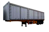 3 Axles Skeleton Box Trailer Van Trailer Manufacturer