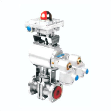 Actuated PFA Lined Valve