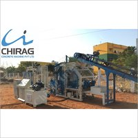 Chirag Multi-Purpose Concrete Paver Block Machine