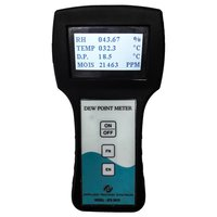 Portable Dew Point/Moisture Meter