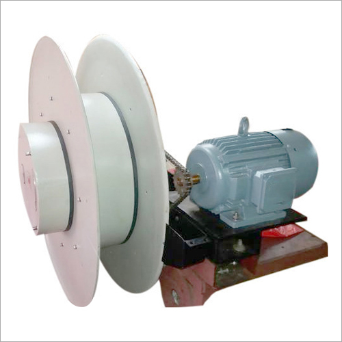 Stall Torque Motorized Cable Reeling Drum Length: 25  Meter (M)