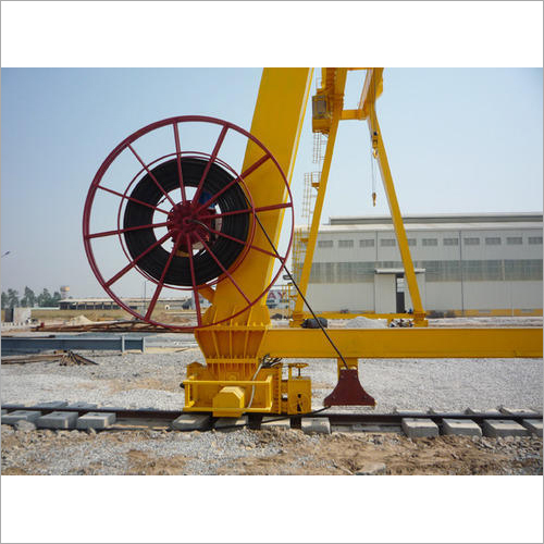 Stall Torque Motorised Cable Gantry Crane Reeling Drum
