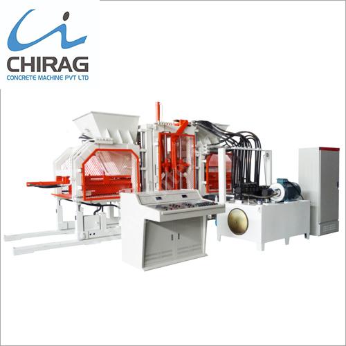 Chirag Next-Gen Hydraulic Block Machine