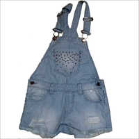 Girls Dungaree Dress