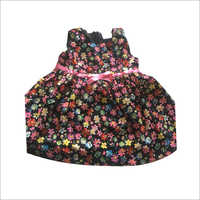 Girls Flower Printed Frock