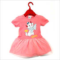 Girls Pink Frock