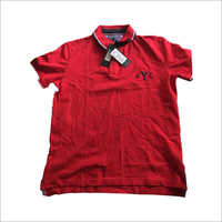 Mens Polo Collar T-Shirt