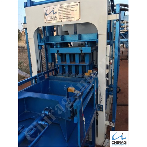 Chirag High Quality Block Making Machine