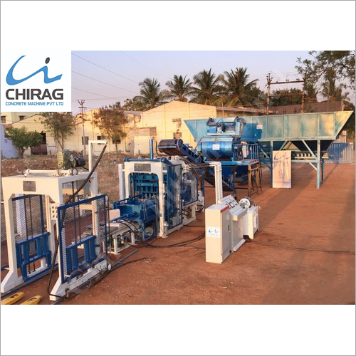 Chirag High Performance Interlocking Block Making Machine
