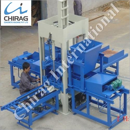 Chirag High Performance Manual Concrete Block Making Machine