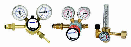 messer flow gauge regulator