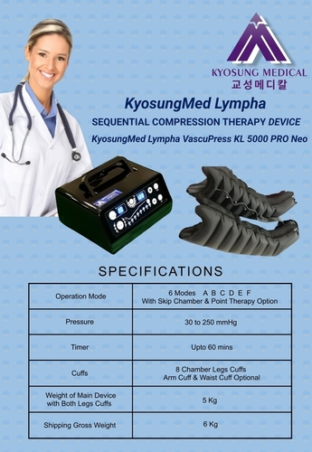 8 Chamber Lymphedema