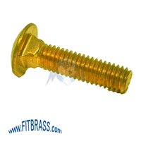 Brass Cariage Bolts