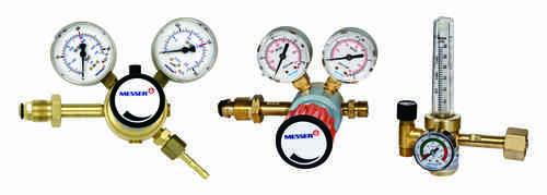 messer high pressure gas regulators