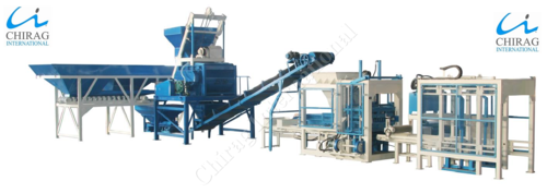 Chirag Multi-Type Hydraulic Block Machine