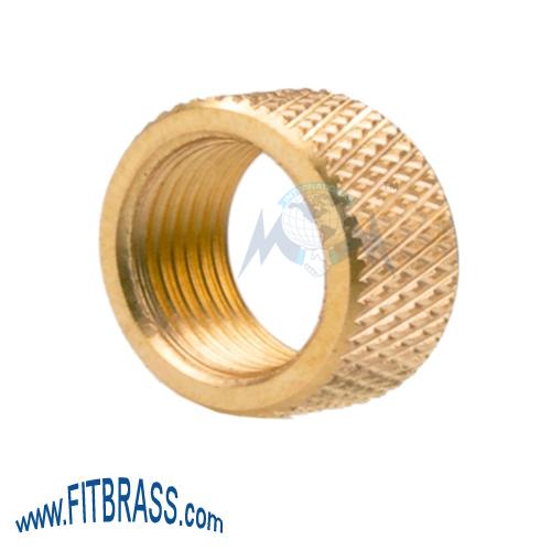 Brass Knurled Nut