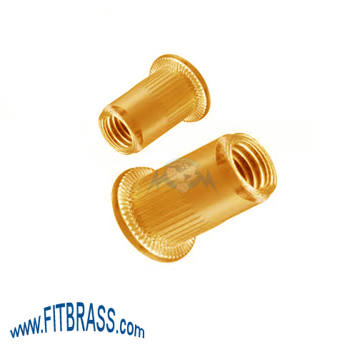 Brass Rivet Nut