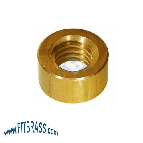 Brass Round Nut