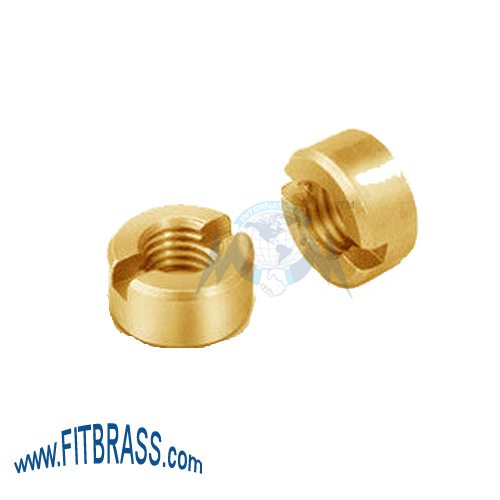 Slotted Round Nut