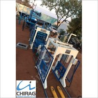 Chirag Hi-Technology Semi Automatic Interlocking Block Making Machine