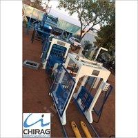 Chirag Hi-Technology Semi Automatic Interlocking Block Making Machine