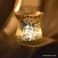 Medium Shape Silver Candle Holder