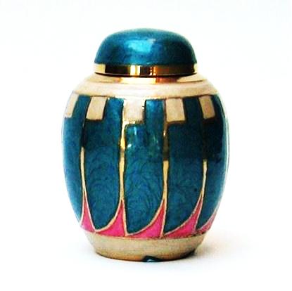 Antique Brass Urn Screw on Top