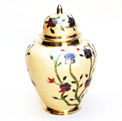 Brass Large Urn Screw on Top