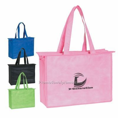 Non woven bag with chain