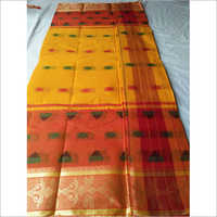 Parwal Buti Cotton Saree