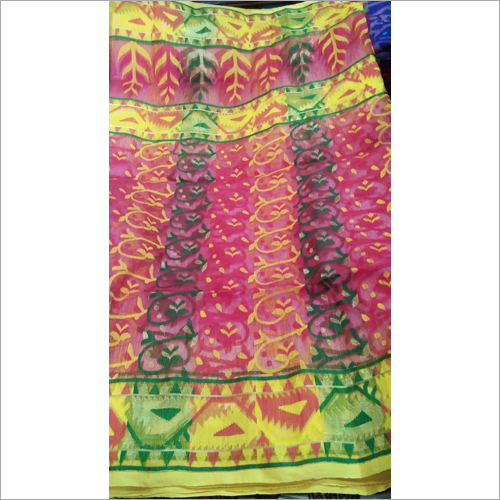 Pure Cotton Dhakai Jamdani Saree