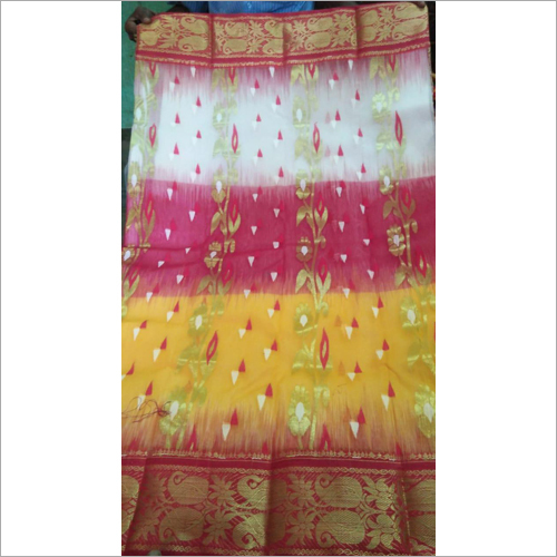 Pure Cotton Jamdani Saree