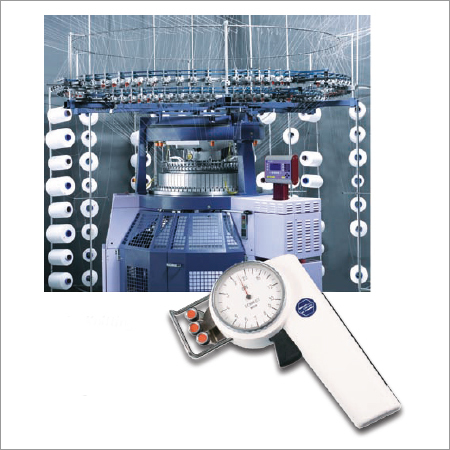 Tension Meter for Circular Knitting Machines