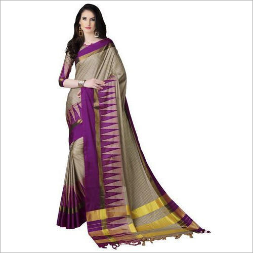Ladies Fashionable Cotton Silk Saree