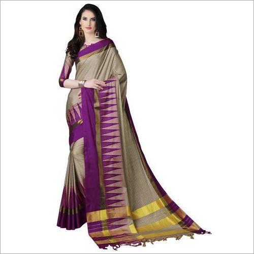Ladies Fashionable Cotton Silk Saree
