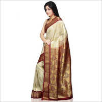 Ladies Fashionable Handloom Silk Saree